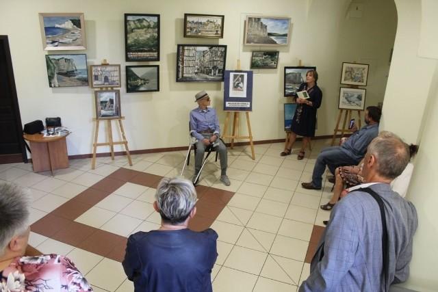 Po plenerze w Miastku. W ratuszu można oglądać wystawę Wojciecha Górki