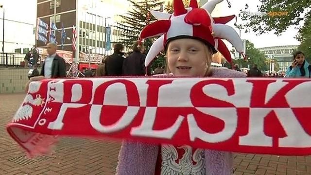 Polscy kibice na Wembley