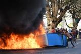 Brazylia: Protesty przeciwko prezydentowi. Zamieszki w Brasilii, podpalono ministerstwo [ZDJĘCIA]