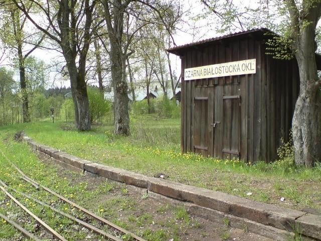 Stacja wąskotorowa końcowa Czarna Białostocka