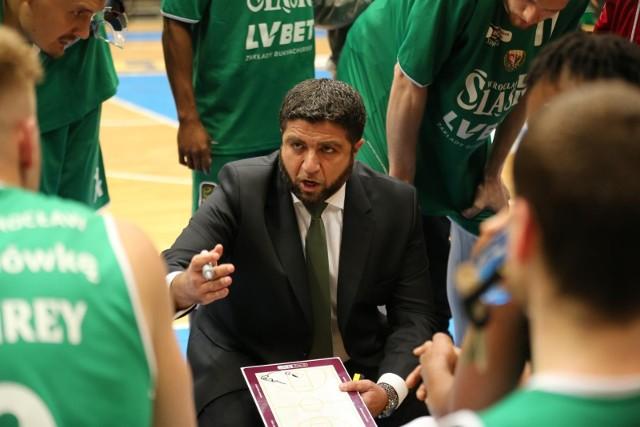 Oliver Vidin, trener koszykarzy Enei Zastalu BC Zielona Góra.