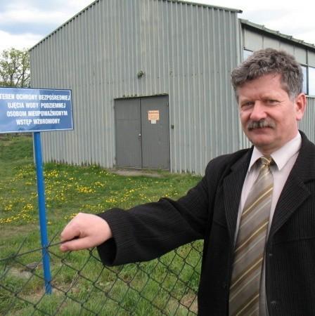 - Zmodernizujemy stację uzdatniania wody - zapowiadał na naszych wójt Jerzy Adamowicz. I słowa dotrzymał.