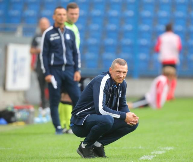 Młodzi piłkarze Lecha podziękowali trenerowi Żurawiowi
