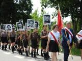 Obchody 76. rocznicy Obławy Augustowskiej w Gibach. Na Wzgórzu Krzyży złożono kwiaty, zapalono znicze [Zdjęcia]
