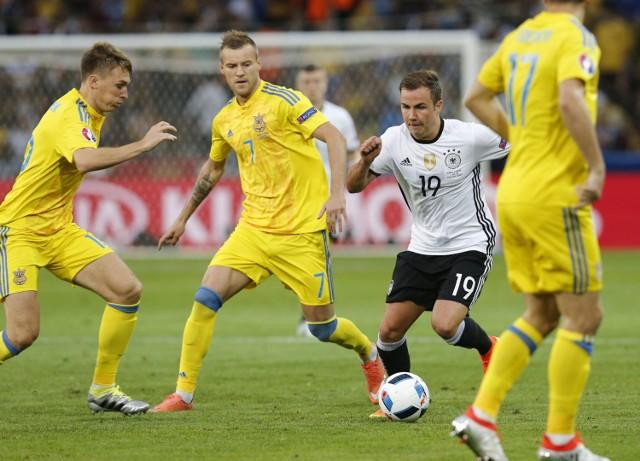 Euro 2016. Mecz Ukrainy z Niemcami