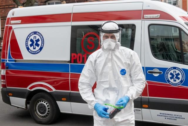 Aż osiem nowych przypadków zakażenia koronawirusem. Zmarł też zakażony 85-latek w Kaliszu.