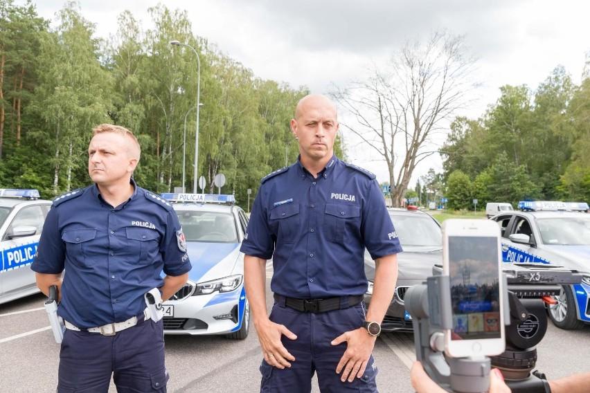 Policyjne radiowozy BMW 3 już na ulicach Białegostoku....