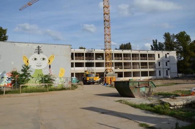 Szkoła Podstawowa nr 84 przy ul. Górnickiego - remont i przebudowa