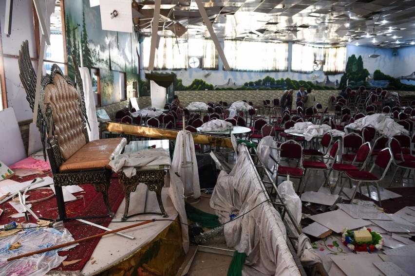 Afganistan: Zamach na weselu w Kabulu. Zginęło 63...
