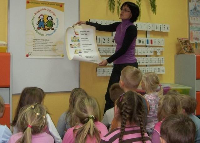 Przedszkolaki nauczą się jak sobie radzić - mówi wychowawczyni Katarzyna Grzywna.
