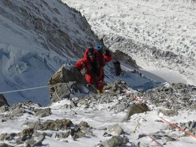 Tomasz Kowalski na Broad Peak