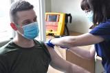 W województwie zachodniopomorskim ruszyły szczepienia żołnierzy przeciwko COVID-19 [ZDJĘCIA]