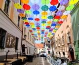 """Pszczyna. Kolorowe parasolki """"inscenizacją tęczowej flagi""""? Radny PiS tak to widzi"""