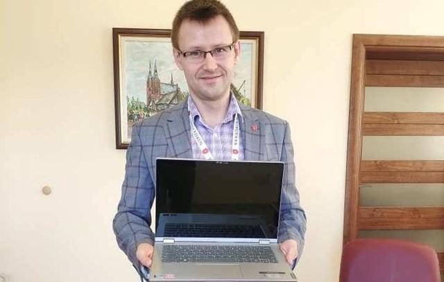 Bartosz Podolak - wójt gm. Rzekuń