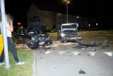 Zderzenie dwóch samochodów na ulicy Szczecińskiej w Słupsku [ZDJĘCIA]
