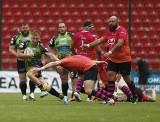 Ekstraliga rugby. Mocni faceci z Master Pharm Rugby Łódź ligowego hitu się nie boją