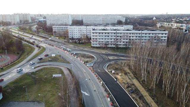 Rondo turbinowe w Jastrzębiu jest na razie w budowie.