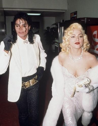 Michael Jackson i Madonna na 63. gali rozdania Oscarów w...