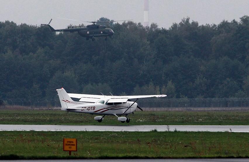 Samoloty Aeroklubu Łódzkiego na Lublinku [ZDJĘCIA]