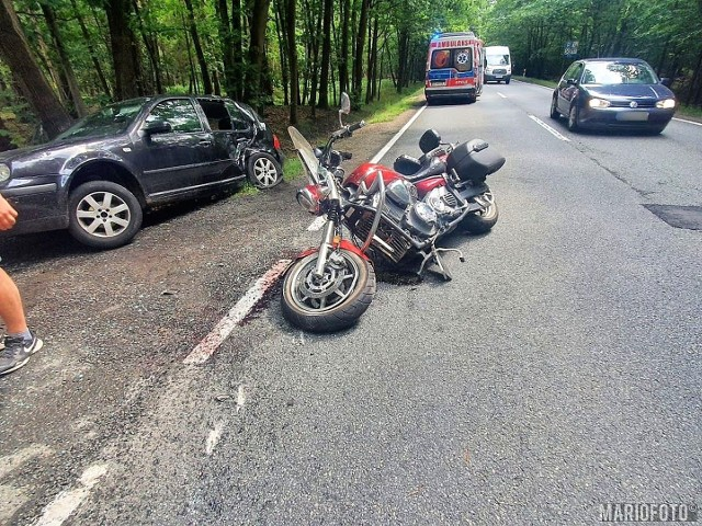 Wypadek w Jełowej.