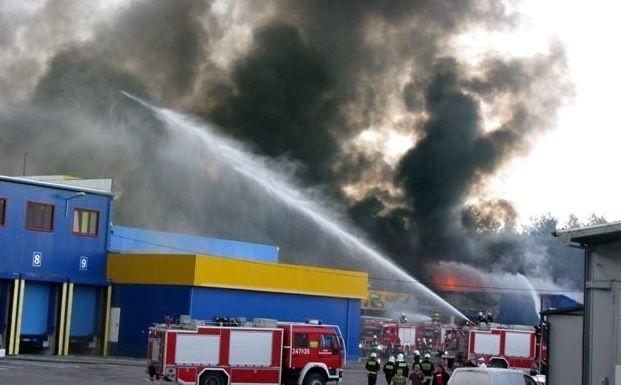 Dzięki szybkiej akcji strażaków udało się zapobiec tragedii.