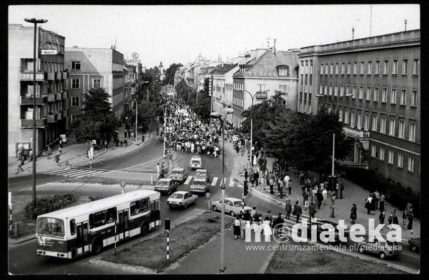 Białystok w dekadach to wystawa archiwalnych fotografii...