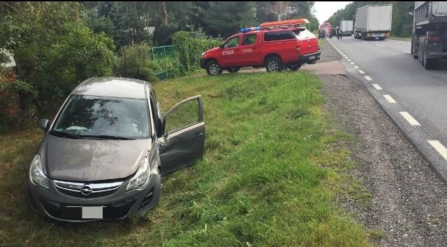 Wypadek w Laskowcu, na drodze krajowej nr 61, 10.07.2019