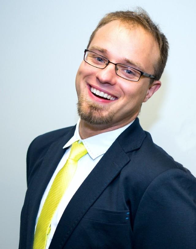 Kamile Nawirski, przewodniczący komitetu organizacyjnego Forum Inżynierów Przyszłości