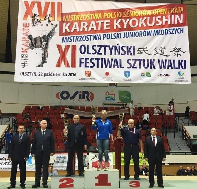 XVII Mistrzostwa Polski Seniorów Open i Kata oraz Mistrzostwa Polski Juniorów Karate Kyokishin - Wrocławski Klub Karate Kyokushin