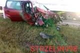 Śmiertelny wypadek na drodze Wrocław - Kłodzko. Droga zablokowana