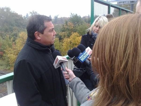 Bartłomiej Sochański, kandydat na prezydenta Szczecina w wyborach samorządowych 2010