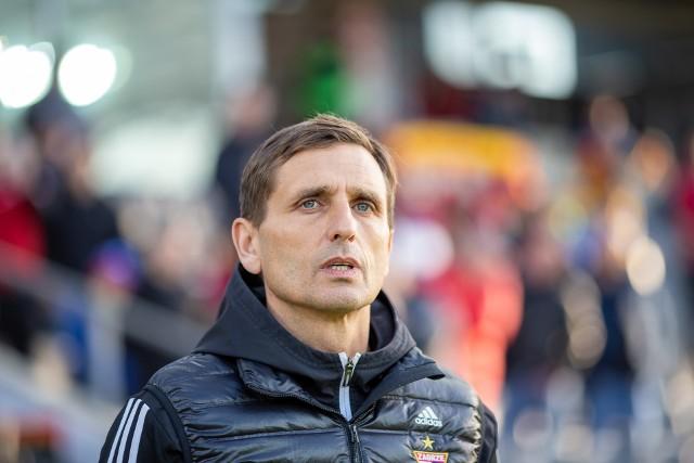 Marcin Brosz, trener Górnika Zabrze, był zadowolony, bo jego zespół wywalczył bardzo ważne trzy punkty.