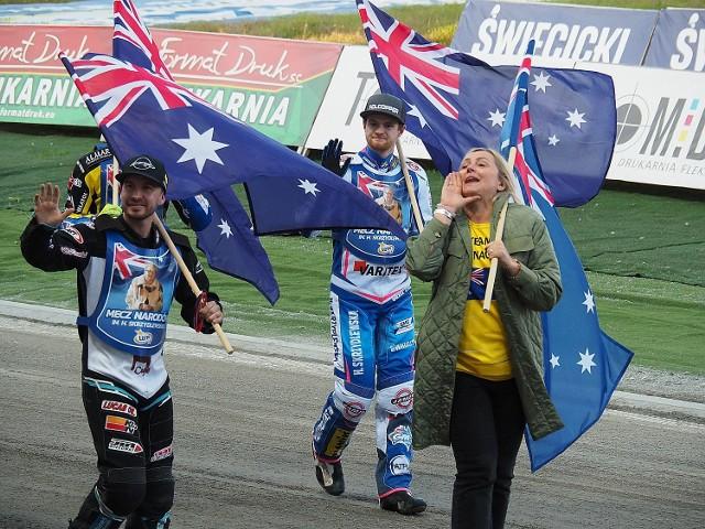 Zwycięzcami Meczu Narodów zostali Australijczycy Rohan Tungate i Brady Kurtz oraz ich menedżer wiceprezydent Łodzi Joanna Skrzydlewska