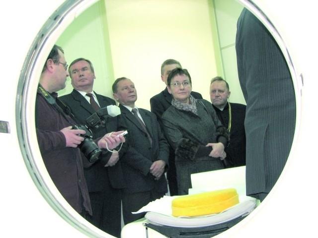 Badania będą wykonywane tomografem komputerowym, oddanym do użytku w bielskim szpitalu przed dwom laty