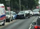 Poznań: Wypadek na skrzyżowaniu Złotowskiej i Perzyckiej