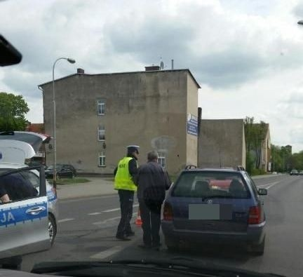 W sobotę na skrzyżowaniu ulic Podwale i Jana Pawła II w Szczecinku doszło do zderzenia dwóch samochodów.