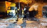 Pożar w firmie DHL w Czechowicach-Dziedzicach. Spłonęły auta kurierów. Wcześniej spaliły się magazyny