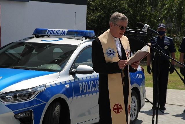 Posterunek Policji w Sadkach poświęcony i otwarty