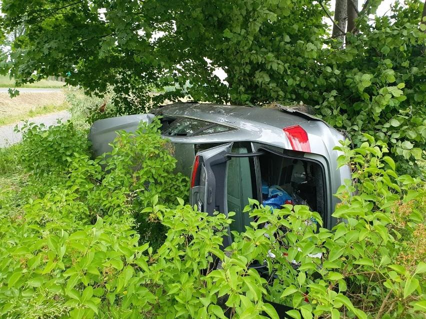 Kierowca zasnął za kierownicą