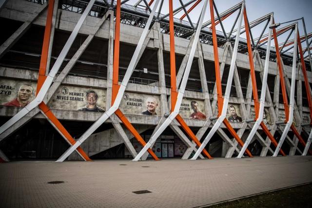 Stadion czeka na swojego sponsora od lat.