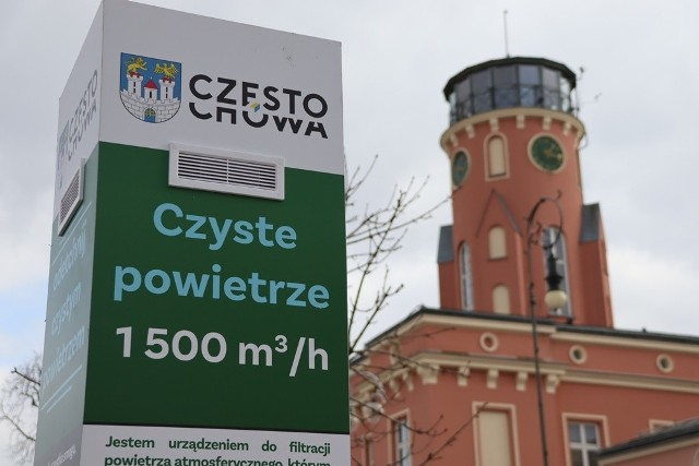Na placu Biegańskiego w Częstochowie postawiono specjalny filtrator antysmogowyZobacz kolejne zdjęcia. Przesuwaj zdjęcia w prawo - naciśnij strzałkę lub przycisk NASTĘPNE