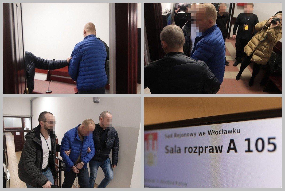 Areszt dla 32-letniego Sławomira S., który jest podejrzany o znęcanie się nad rodziną [zdjęcia, wideo] | Gazeta Pomorska