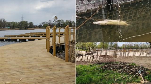 Kąpielisko w Przylasku Rusieckim. Budowa wciąż trwa