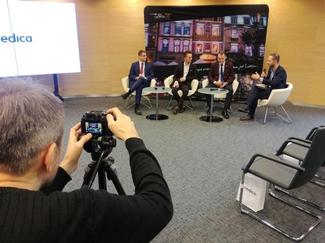 Swoje plany dotyczące Lublina Predica ogłosiła w czwartek podczas konferencji prasowej