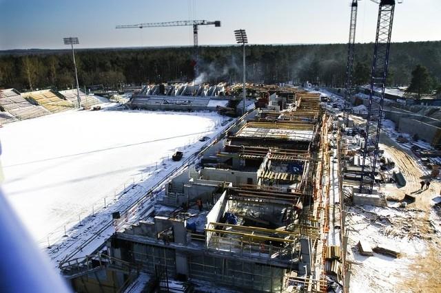 Budowa stadionu miejskiegoBudowa stadionu miejskiego