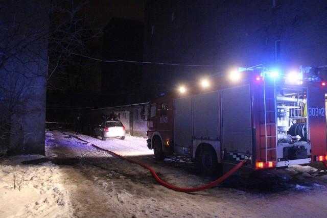 Śmiertelny pożar na Kilińskiego w Łodzi
