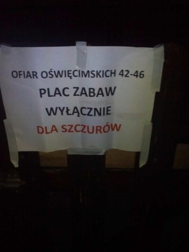 Tak wygląda podwórko przy ul. Ofiar Oświęcimskich we Wrocławiu
