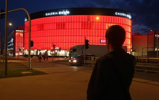 Galeria Echo zmieniła barwy na czas EURO 2012