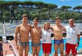 Pływacy Unii Oświęcim pojechali po naukę na ME juniorów do Rzymu, ale to Polska wróciła z dwunastoma medalami [ZDJĘCIA]