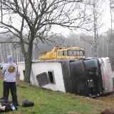 Jagiellonia: Kierowca uratował kibiców (wideo, foto, mapa)